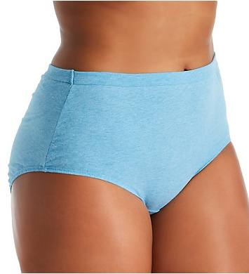 Fruit Of The Loom Fit For Me Beyond Soft Brief Panties - 6 Pack