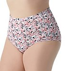Fit For Me Plus Comfort Brief Panties - 6 Pack