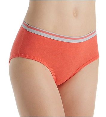 Fruit Of The Loom Heather Low Rise Brief Panties - 6 Pack