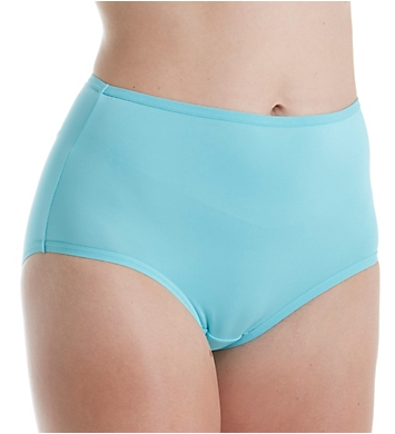 Fruit Of The Loom Microfiber Brief Panties - 6 Pack
