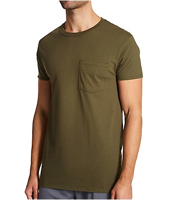 Fruit Of The Loom Men's Fashion Pocket T-Shirts - 6 Pack