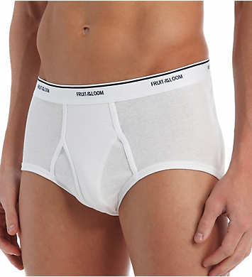 Fruit Of The Loom Extended Size Full Cut 100% Cotton Briefs - 7 Pack
