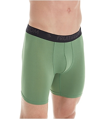 Fruit Of The Loom Breathable Lightweight Boxer Briefs - 3 Pack