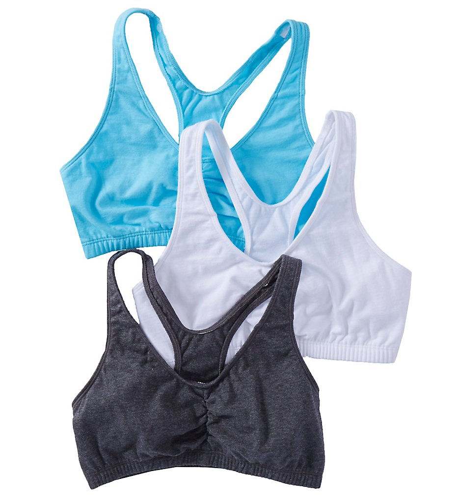 Fruit Of The Loom FT170 Total Comfort Racerback Bras - 3 Pack