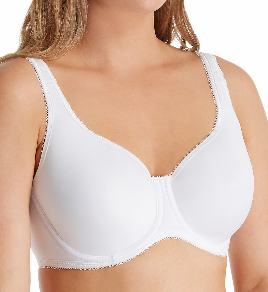 Fruit Of The Loom - Fruit Of The Loom FT683 Breathable Spacer Underwire Bra (White 36D)