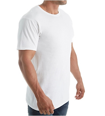 Fruit Of The Loom Premium Cotton Crew Neck T-Shirts - 4 Pack