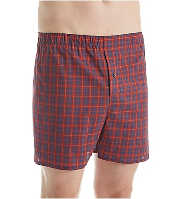 Fruit Of The Loom Premium Tartan Woven Boxers - 4 Pack