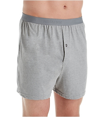 Fruit Of The Loom Premium Assorted Knit Boxers - 4 Pack