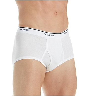 Fruit Of The Loom Classic Extended Size Briefs - 8 Pack