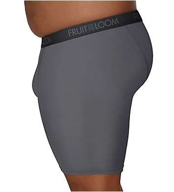 Fruit Of The Loom Big Man Microstretch Boxer Brief - 5 Pack