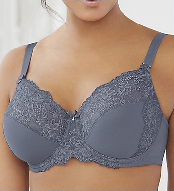 Glamorise Elegance 3 Part Cup Lace Underwire Bra