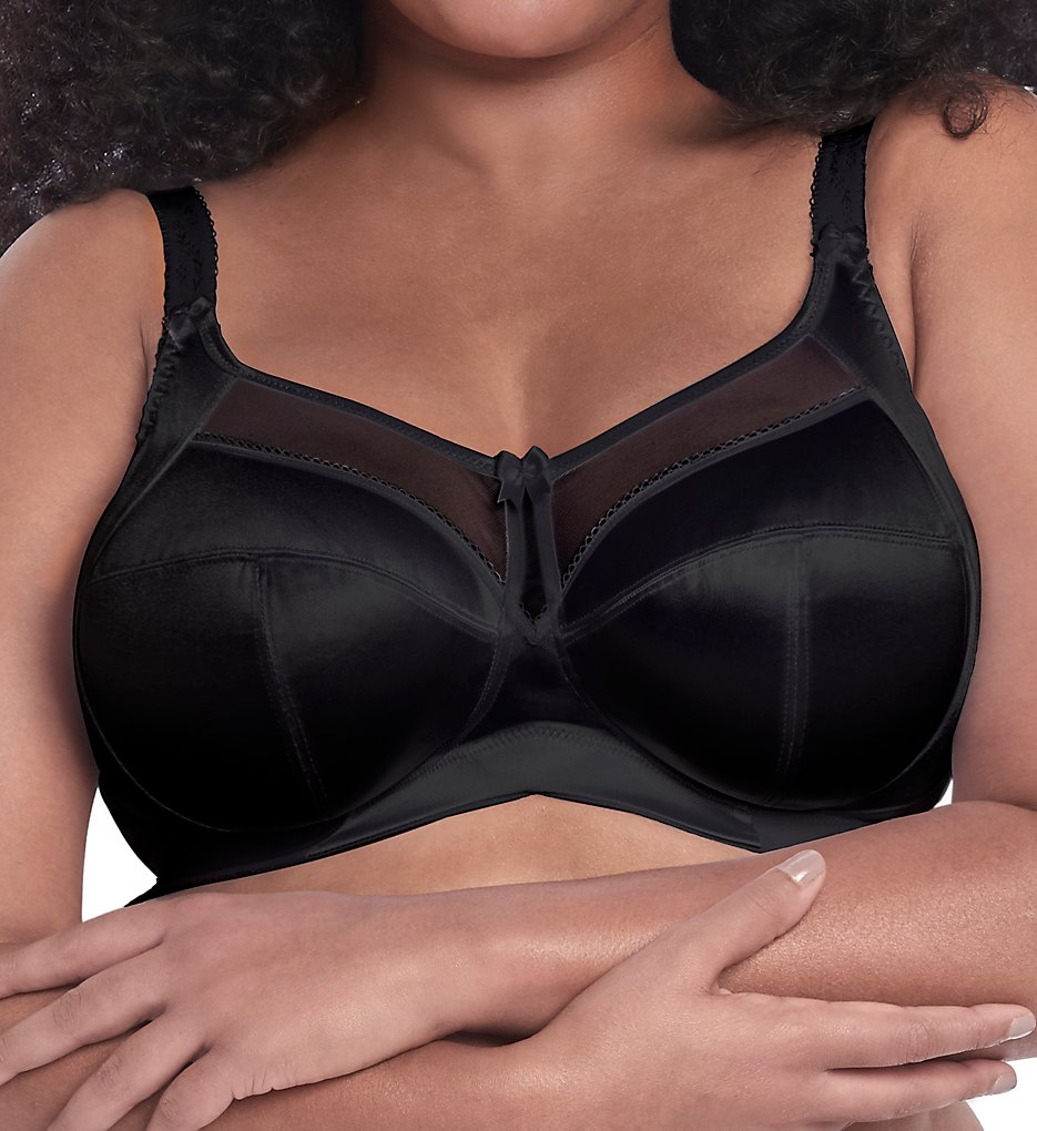 Goddess GD6093 Keira Soft Cup Bra (Black)
