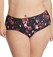 100/% Silky Semi Sheer Nylon  Pantie  Size  XL 8  White hips  42//44