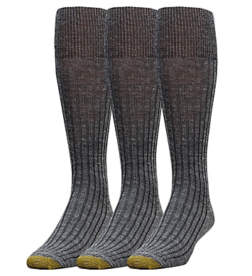 Gold Toe Windsor Wool Over The Calf Dress Socks - 3 Pack