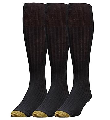 Gold Toe Windsor Wool Over The Calf Dress Socks - 3 Pack
