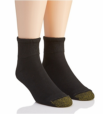 Gold Toe Non Binding Super Soft Quarter Socks - 2 Pack