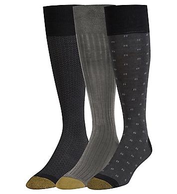 Gold Toe Over The Calf Premium Fashion Socks - 3 Pack