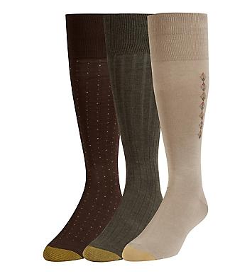 Gold Toe Over The Calf Classic Fashion Socks - 3 Pack