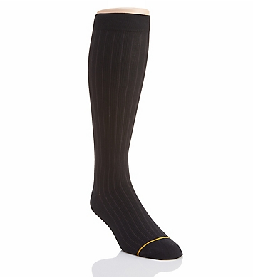 Gold Toe Mild Compression Over The Calf Rib Pattern Sock