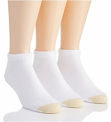 Gold Toe Ultra Tec No Show Socks - 3 Pack