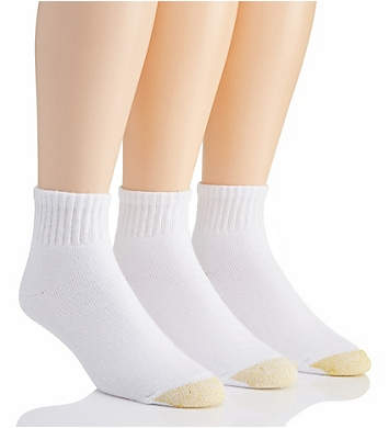 Gold Toe Ultra Tec Quarter Socks - 3 Pack