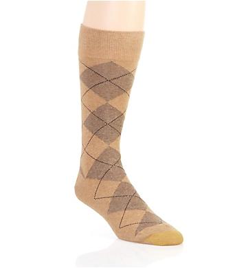 Gold Toe Odor Control Combed Cotton Argyle Crew Sock