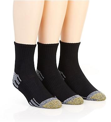 Gold Toe Outlast Quarter Socks - 3 Pack