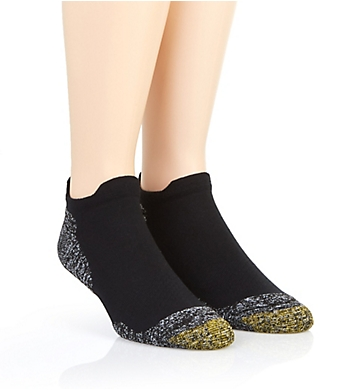 Gold Toe Golf Everyday No Show Socks - 2 Pack