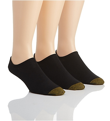 Gold Toe Oxford Basic Invisible Socks - 3 Pack