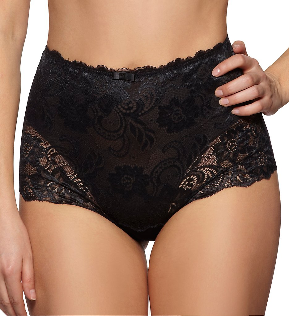Gossard - Gossard 11114 Gypsy High Waist Deep Short Panty (Black S)