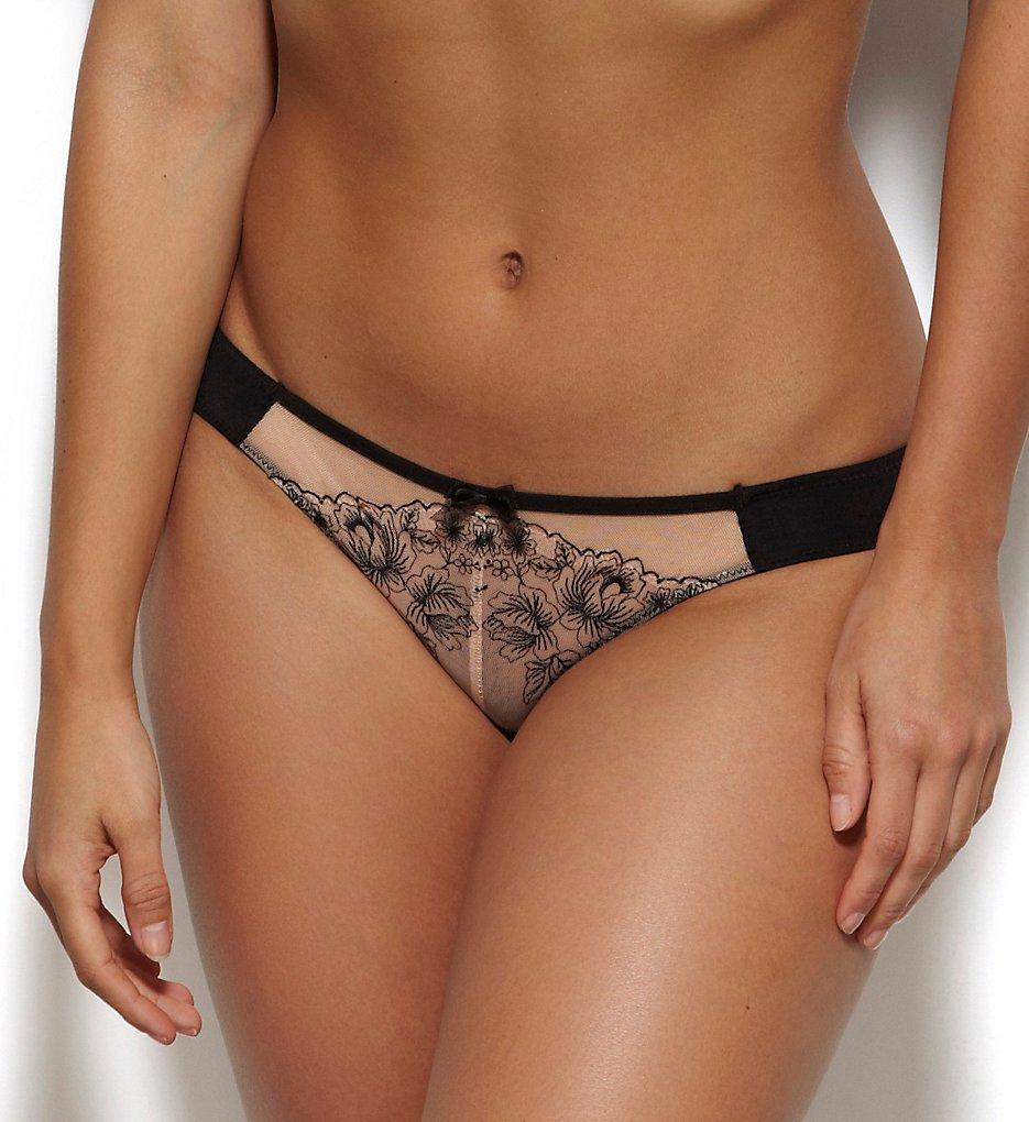 Gossard >> Gossard 13503 Carmen Brief Panty (Black/Blush L)
