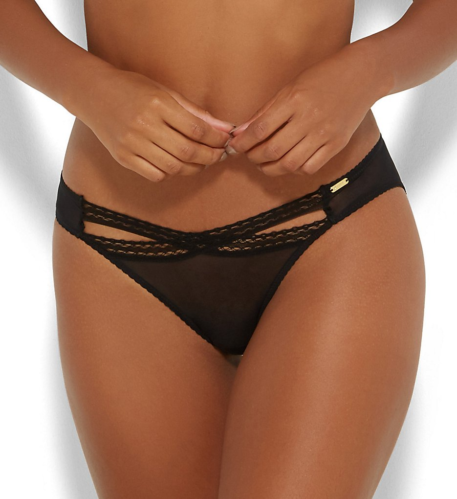 Gossard - Gossard 15203 Sheer Seduction Brief Panty (Black XS)
