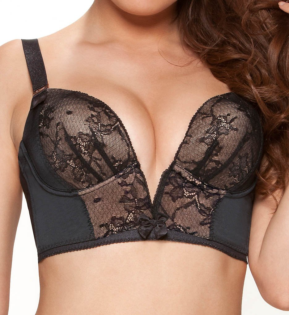 Gossard >> Gossard 8515 Retrolution Padded Staylo Bra (Black 30D)