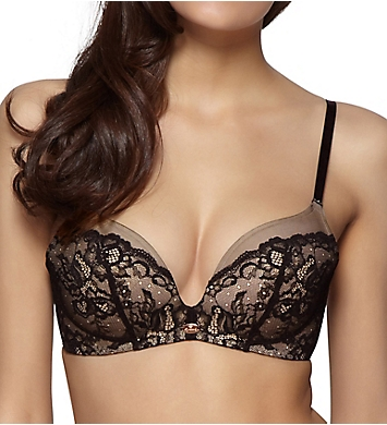 Gossard Glamour Lace Wireless Plunge Bra with Uplift
