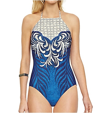 Gottex Imperial High Neck One Piece Swimsuit