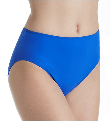 Gottex Lattice High Leg High Waist Brief Swim Bottom