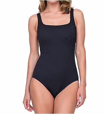 Gottex Jazz Textured One Piece Swimsuit