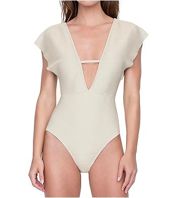 Gottex Orlena Deep Plunge One Piece Swimsuit