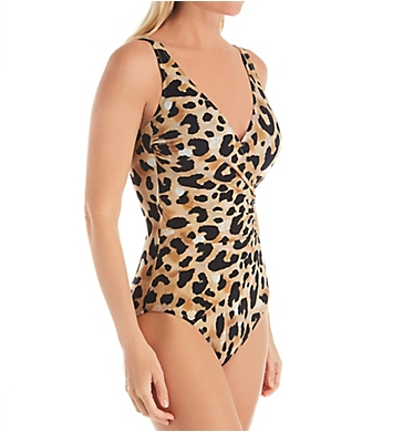 Gottex Kenya Surplice One Piece Swimsuit