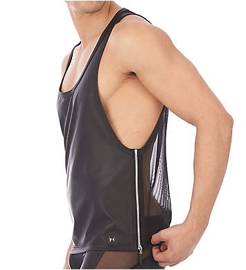 Gregg Homme Reckless Faux Leather Tank