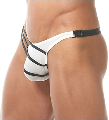 Gregg Homme Grip Jersey G-String with Detachable Buckle