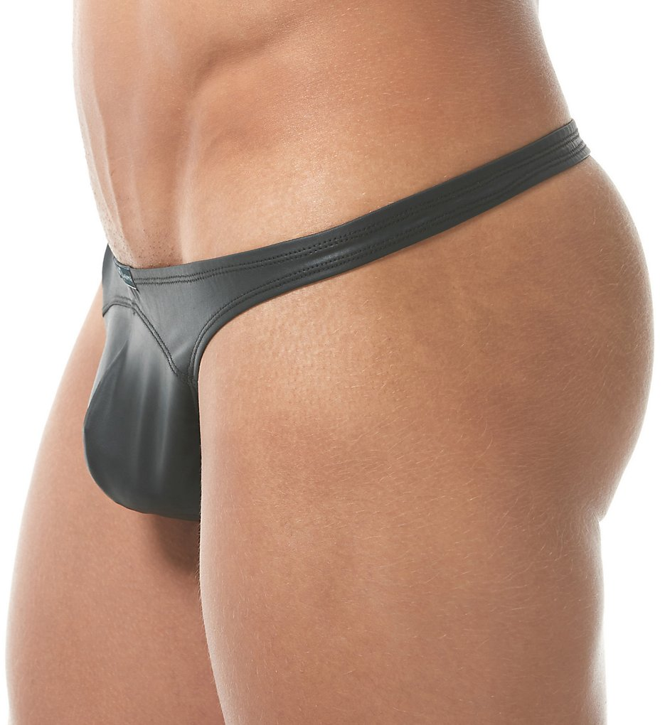 Gregg Homme 150904 Bonded Stretch Thong (Black Xl)