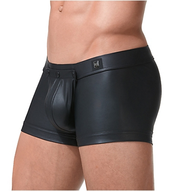 Gregg Homme Crave Faux Leather Boxer with Detachable Pouch