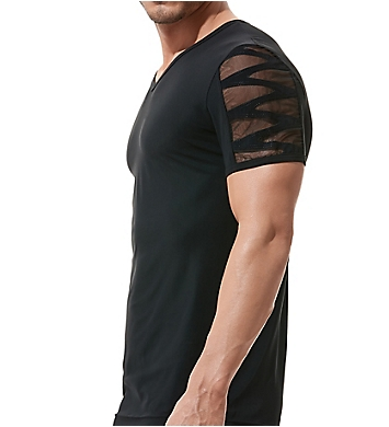 Gregg Homme High-Line Laser Cut Embroidered T-Shirt