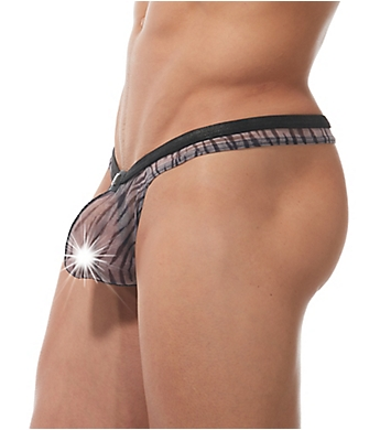 Gregg Homme Casablanca Sheer Thong With C-Ring