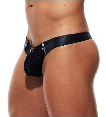 Gregg Homme DMNT Faux Leather Thong
