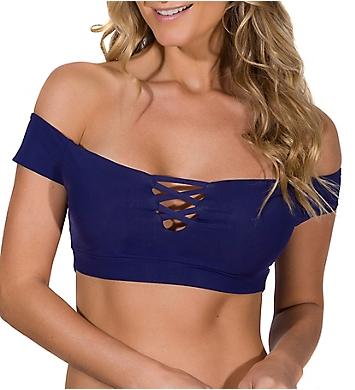 Guria Beachwear Bossa Nova Off The Shoulder Swim Top