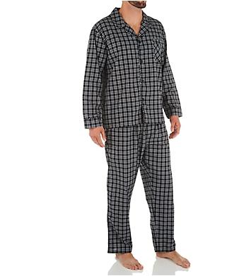 Hanes Classics Broadcloth Woven Pajama Set