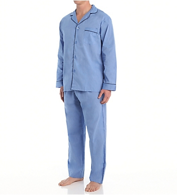 Hanes Big Man Classics Broadcloth Woven Pajama Set