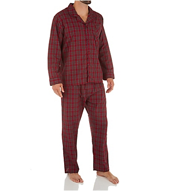 Hanes Tall Man Classics Broadcloth Woven Pajama Set